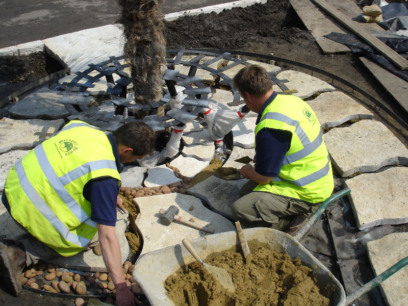 cementing-in-the-cobbles