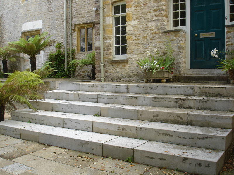 Purbeck block steps