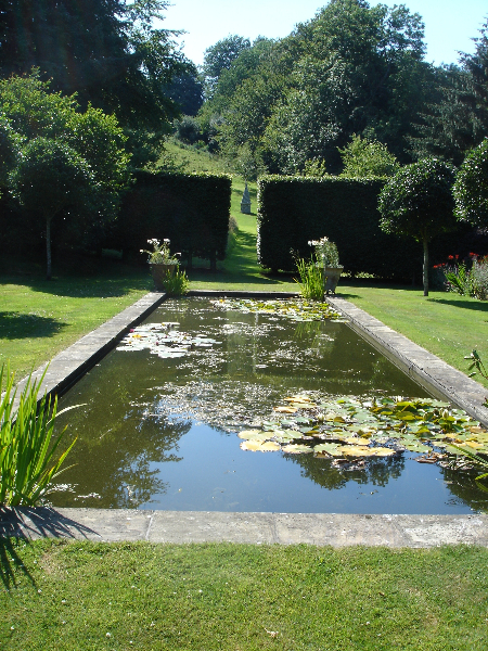 Water features and pond design and build by marshall james for Ornamental fish pond maintenance